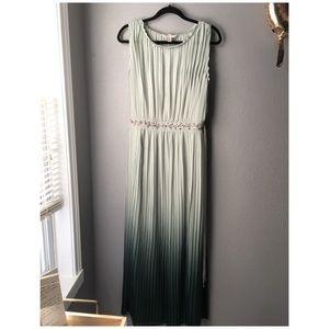 Lauren Conrad mint maxi dress